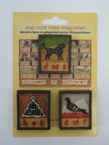 Aap - Noot - Mies set losse magneten