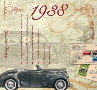 Kaart en CD geboortejaar 1938