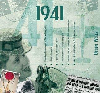 Kaart en CD geboortejaar 1941
