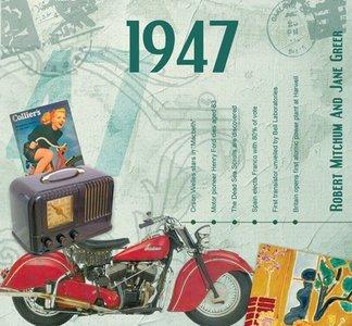 Kaart en CD geboortejaar 1947