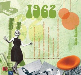 Kaart en CD geboortejaar 1962