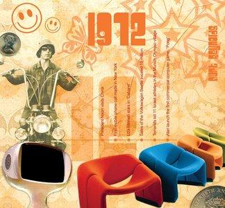 Kaart en CD geboortejaar 1972