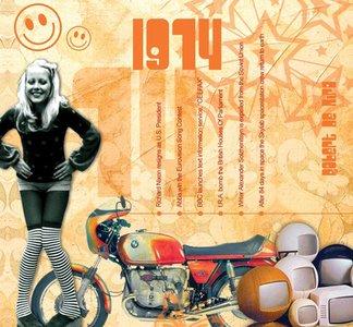 Kaart en CD geboortejaar 1974