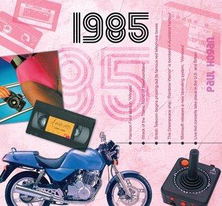 Kaart en CD geboortejaar 1985