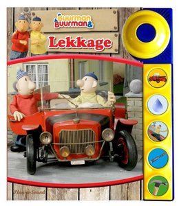 Geluidenboek Buurman en Buurman: Lekkage. kinderboek.