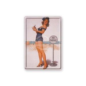 Metal Card 10 x 15cm - No parking - NA 16276