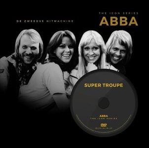 ABBA: the icon series (boek+dvd)