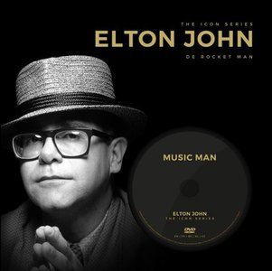 Elton John: the icon series (boek+dvd)