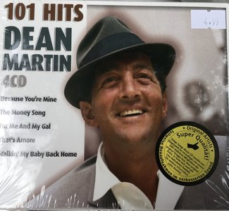 Dean Martin 101 Hits op 4 cd's