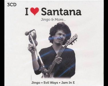 Santana I love Santana. Jingo & More...