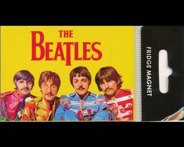 Beatles koelkast magneet, kleur