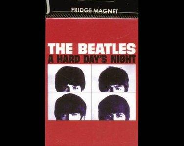 Beatles koelkast magneet A hard day's night