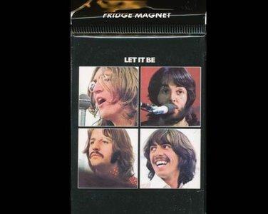 Beatles koelkast magneet, Let it be