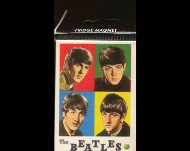 Beatles koelkast magneet, jong