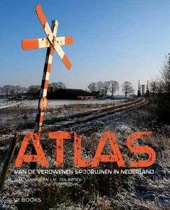 Atlas van de verdwenen spoorlijnen in Nederland. Victor Lansink