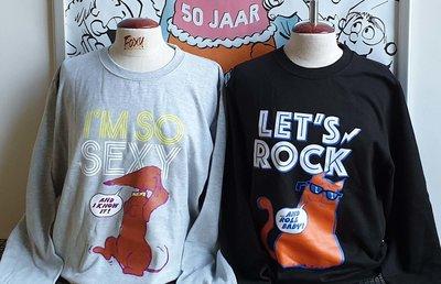 Jan Jans en de Kinder Sweat-Shirt - Zwart - Maat S