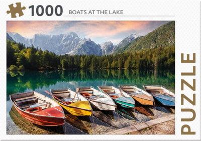 Botes on the lake Puzzel van Rebo