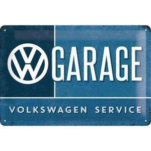 Tin Sign 20x30 VW Garage