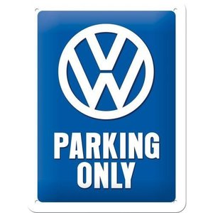 Tin Sign 15x20 VW Parking Only