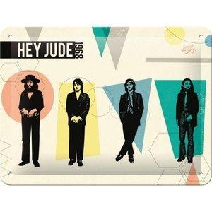 Tin Sign 15x20 The Beatles Hey Jude